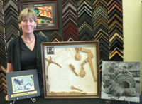 Frames of Distinction owner Lisa Crabtree