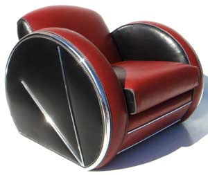 Art Deco Chair 10