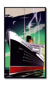 Art Deco Queen Mary 47