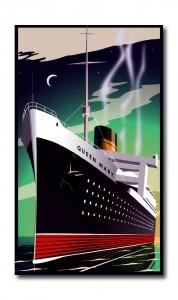 Art Deco Queen Mary 47
