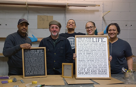 Paul Hickman and the Urban Ashes team.