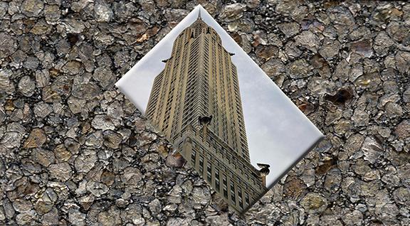 Gray Building 1